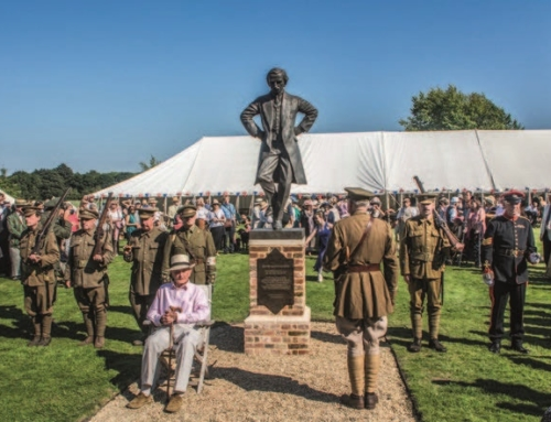 Unveiling of the Sculpture of Lloyd George
